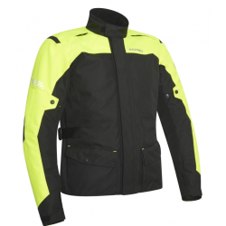 Chaqueta Acerbis Discovery Forest Negro/Amarillo Flúor