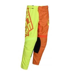 Pantalón Infantil Acerbis Eclipse Amarillo/Naranja