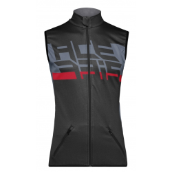 Chaleco Acerbis Softshell X-Wind Negro/Gris