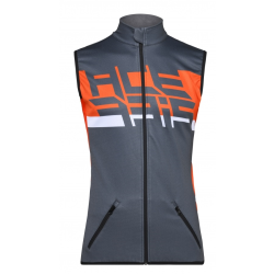 Chaleco Acerbis Softshell X-Wind Gris/Naranja