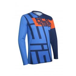 Jersey Acerbis MX Flag Azul/Naranja