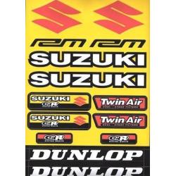 Adhesivos Variados 4MX Pequeño Suzuki