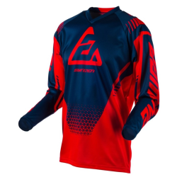 Jersey Answer Syncron Drift Rojo/Azul Oscuro