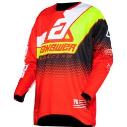 Jersey Answer 2020 Elite Korza Rojo/Amarillo/Blanco