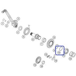 Circlip Pedal Arranque SW25 KTM SX-F 450 10-12