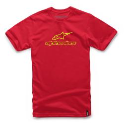 Camiseta Alpinestars Always Rojo/Amarillo Flúor
