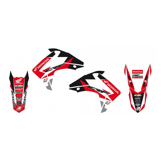 Kit Adhesivos Blackbird Dream 3 Honda CRF 250 R 14-17 CRF 450 R 13-16