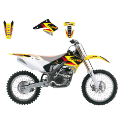 Kit Adhesivos Blackbird Dream 3 Suzuki RMZ 250 04-06