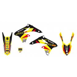 Kit Adhesivos Blackbird Dream 3 Suzuki RMZ 250 10-18