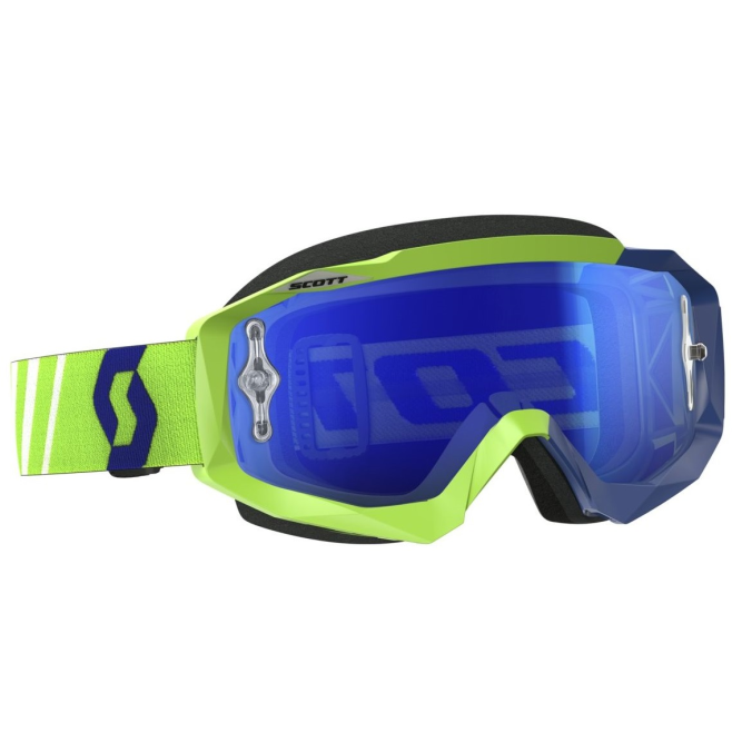 Gafas Scott Hustle MX Verde/Azul Fluor
