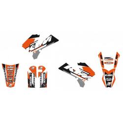 Kit Adhesivos Blackbird Dream 3 KTM SX 85 06-12