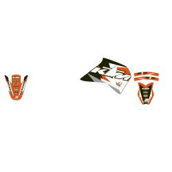 Kit Adhesivos Blackbird Dream KTM EXC-F 450 96-99