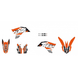 Kit Adhesivos Blackbird Dream 3 KTM SX 65 09-15