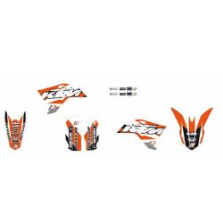 Kit Adhesivos Blackbird Dream 3 KTM SX 50 09-15
