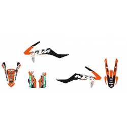Kit Adhesivos Blackbird Dream 3 KTM SX 50 16-18