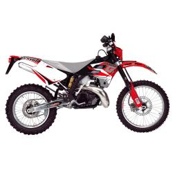 Kit Adhesivos Blackbird Dream 3 Gas Gas EC 250 02-06 FSE 400/450 02-06 Rojo