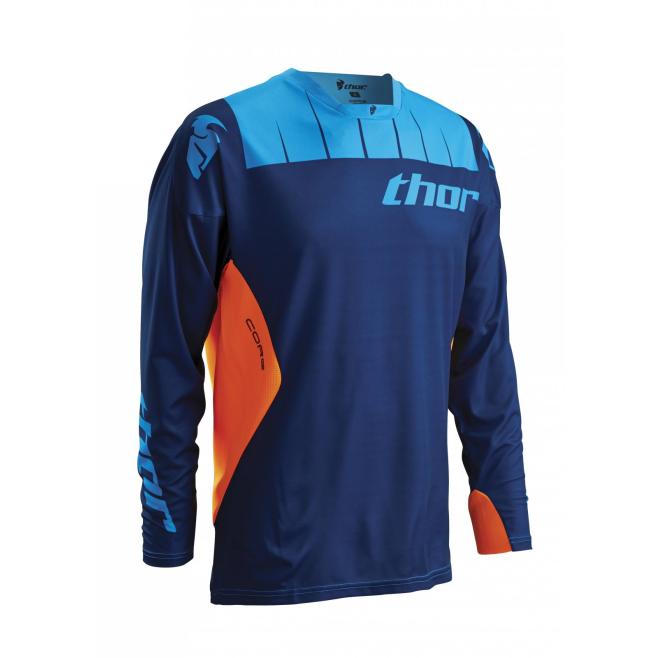Jersey Thor  Core Azul/Naranja
