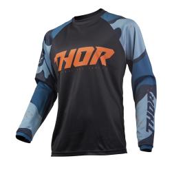 Jersey Thor S9 Sector Camo Azul/Negro