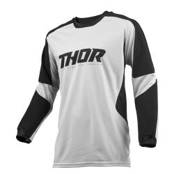 Jersey Thor S9 Terrain Gris Claro/Negro