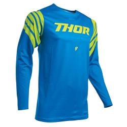 Jersey Thor S20 Prime Pro Strut Azul Eléctrico/Amarillo Flúor
