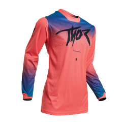 Jersey Mujer Thor S20 Pulse Fader Coral
