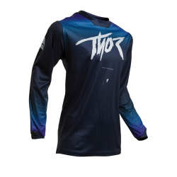Jersey Mujer Thor S20 Pulse Fader Azul Oscuro