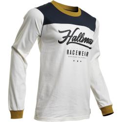 Jersey Vintage Thor S20 Hallman GP Blanco