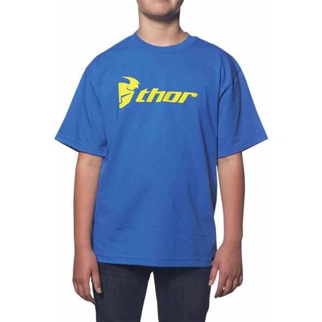 Camiseta Infantil Thor Azul