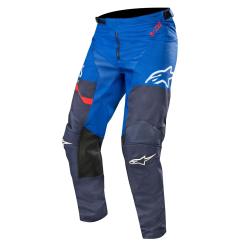 Pantalón Alpinestars Racer Flagship 2019 Azul Oscuro/Azul/Rojo