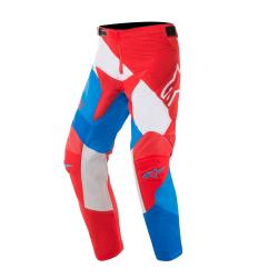 Pantalón Infantil Alpinestars Racer Venom 2019 Rojo/Blanco/Azul