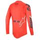 Jersey Alpinestars Supertech 2020 Rojo/Azul Oscuro/Blanco