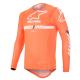Jersey Alpinestars Supertech 2020 Naranja Flúor/Blanco/Azul