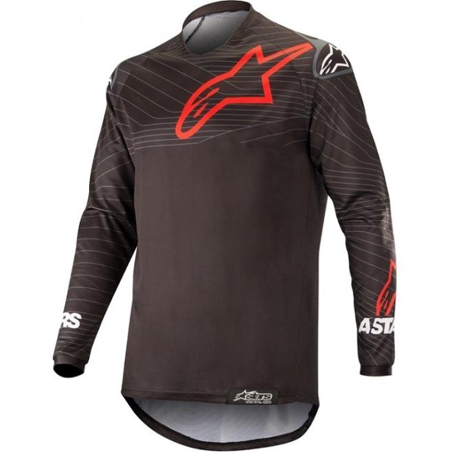 Jersey Alpinestars Venture R Negro/Rojo
