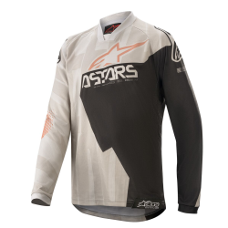 Jersey Infantil Alpinestars Racer Factory 2020 Gris/Negro/Oxido
