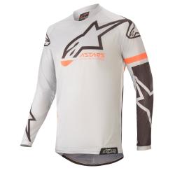 Jersey Infantil Alpinestars Racer Compass 2020 Gris Claro/Negro