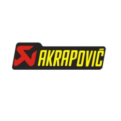 Adhesivo AKRAPOVIC 150x45 mm