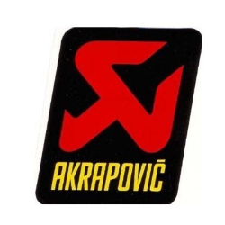 Adhesivo AKRAPOVIC 75 mm