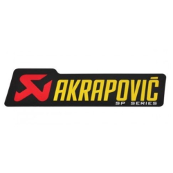 Adhesivo AKRAPOVIC 150x45 mm SP SERIES