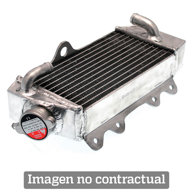 Radiador Aluminio Soldado Izquierdo Standard Honda CRF 250 L 13-15