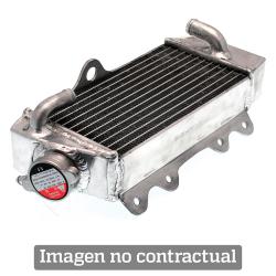 Radiador Aluminio Soldado Izquierdo Standard Husqvarna Roja TE 250 03-09 TC 03-08 TE 450/TC 310 03-10