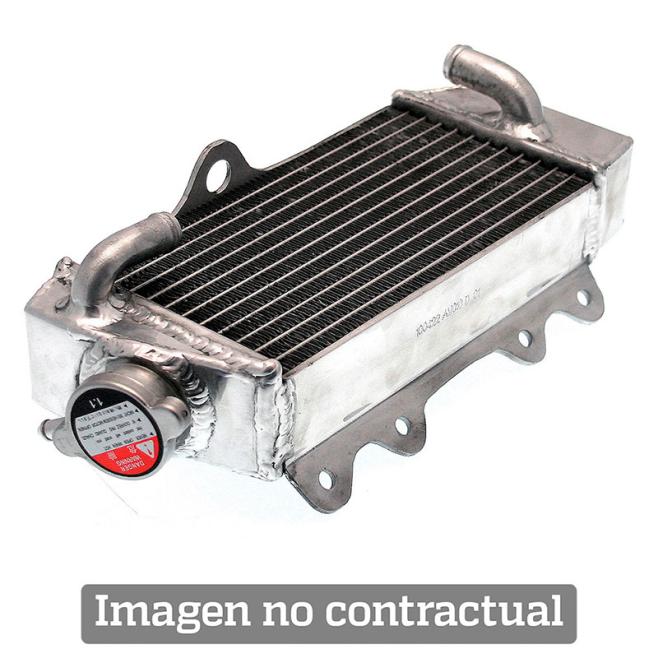 Radiador Aluminio Soldado Derecho Sobredimensionado Yamaha YZ 250 F 14-16 YZ 450 F 14-15