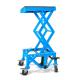 Caballete Elevador Hidráulico 4MX con Ruedas Azul