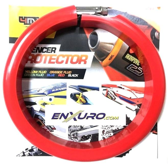 Protector Silencioso 4MX 2T Rojo
