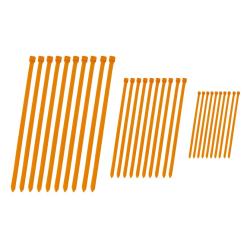 Juego Bridas 4MX Naranja