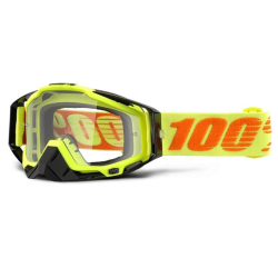 Gafas 100% Racecraft Attack Yellow Transparente