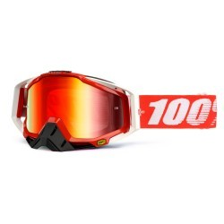 Gafas 100% Racecraft Fire Red mirror