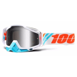 Gafas 100% Racecraft Calculus Ice Mirror Silver