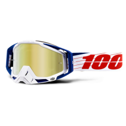 Gafas 100% Racecraft Bibal/White Mirror