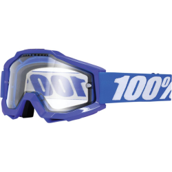 Gafas 100% Accuri Reflex Blue Doble Cristal