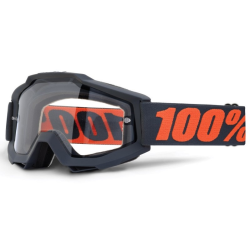 Gafas 100% Accuri Gun Metal Doble Cristal